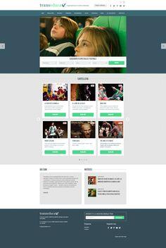 Diseño web y programación para Transeduca.   La empresa ofrece servicios de teatro infantil para centros educativos de toda España