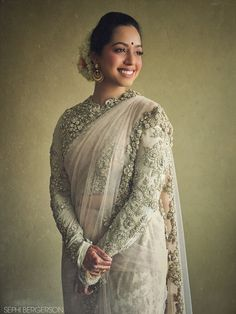 Pink Sabyasachi Bridal Saree | Catherine + Benny | Indian Wedding Blog | Think Shaadi