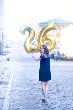 """Birthday Photoshoot with my beautiful bestie in Downtown Lynchburg! Number balloons are all the rage right now, ya know?! And it's a great way to get a million """"happy birthdays"""" yelled at you by strangers. www.ejrphotos.com"""