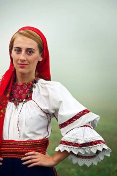 Romanian blouse - Lapus region. Gabriel Boriceanu collection
