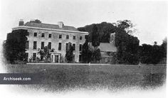 1714 - Corkagh House, Clondalkin, Co. Dublin - Architecture of Dublin South, Lost Buildings of Ireland - Archiseek - Irish Architecture Old Pictures, Old Photos, Photo Engraving, Iconic Photos, Dublin, Celtic, Ireland, Irish, Buildings