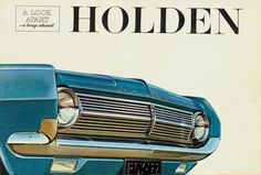 A free gallery of old car brochures from 1903 to Holden Kingswood, Holden Monaro, Holden Australia, Australian Cars, Australian Homes, Aussie Muscle Cars, Old Pickup, Car Brochure, Car Advertising