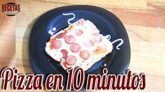 Pizza en 10 minutos - Recetas de cocina