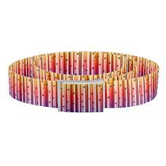 Rainbow Loves Hearts Design Belt