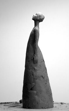 figurative sculpture Carol Peace Sculpture : May Pottery Sculpture, Sculpture Clay, Abstract Sculpture, Pottery Art, Statues, Ceramic Sculpture Figurative, Sculptures Céramiques, Ceramic Figures, Ceramic Clay