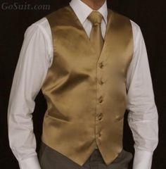 Men's Vest Solid Color - 17