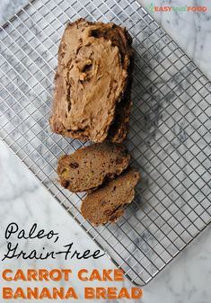Grain-Free Carrot Cake Banana Bread