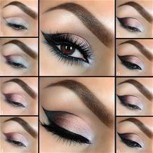 eye makeup tutorial Beautiful Eye Makeup, Cute Makeup, Pretty Makeup, Perfect Makeup, Awesome Makeup, Beautiful Eyes, Casual Makeup, Perfect Eyeliner, Makeup Style