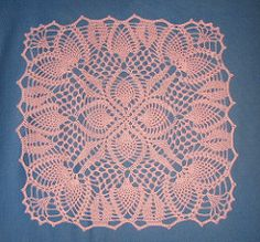 Ravelry: Pineapple Posy Doily #PD-426 pattern by The Spool Cotton Company