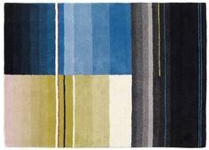 Het HAY vloerkleed van Scholten & Baijings is leverbaar in 6 uitvoeringen. Gemaakt van 100% zuiver wol op een ondergrond / achterkant van katoen. afmeting: 170