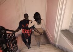 Photo: Kanye West grabs Kim's famous butt wouldn't...