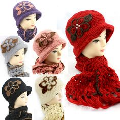1920 #vintage style #cloche/crochet/knitted/handmade hat and #scarf set f3l,  View more on the LINK: http://www.zeppy.io/product/gb/2/142035198822/