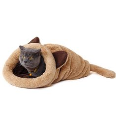 Cheap pet dog house, Buy Quality dog house directly from China cat mat Suppliers: Cute Cat Sleeping Bag Warm Dog Cat Bed Pet Dog House Lovely Soft Pet Cat Mat Cushion High Quality Products Lovely Design Pet Beds, Dog Bed, Cute Cat Sleeping, Sleeping Bags, Animal Gato, Cat Mat, Cute Plush, Cat Supplies, Funny Animals