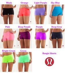 Free Shipping, Wholesale Best Seller Lululemon Boogie Short for Women,Discounted Lululemon Yoga Shorts/Sport Pants/Skinny Shorts-in Yoga Set...