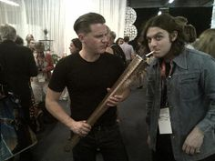jamie cook and nick o'malley of arctic monkeys