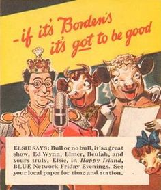 Elsie 'n' Elmer - But Ed Wynn has lots that you haven't got!