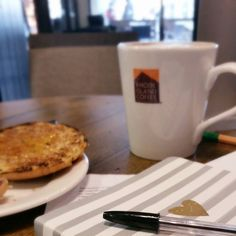 It's a long time since breakfast looked like this. A latte as big as they come script reading and note taking. What are you up to this drizzly Saturday?  #coffee #coffeeshop #coffeesesh #morning #breakfast #weekend #saturday #script #acting #theatre