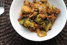 Brussels sprout & broccoli bake