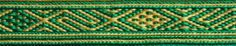 band from vestrum/norway 4th century tablet technique: pebble weave woven by aisling