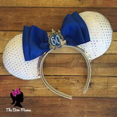 Bought a set of these so my mom and I can wear them together when we go to celebrate the Diamond Anniversary at Disneyland for her 60th Birthday!!! They're a surprise too! :)