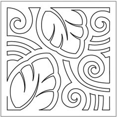 Mola quilting pantograph sewing pattern by Patricia Ritter of Urban Elementz Machine Quilting Patterns, Quilting Templates, Longarm Quilting, Free Motion Quilting, Hand Quilting, Embroidery Patterns, Hawaiian Quilt Patterns, Hawaiian Quilts, Patchwork Quilt