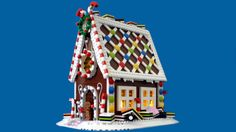 This Lego gingerbread house is eye candy