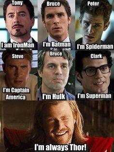 41 Ideas Funny Marvel Memes The Avengers Captain America Marvel Dc Comics, Marvel Avengers, Films Marvel, Marvel Heroes, Is Deadpool Marvel, Captain Marvel, Avengers Humor, Marvel Jokes, Funny Marvel Memes