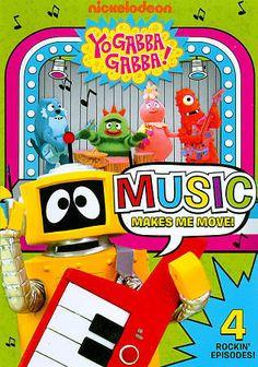 Yo Gabba Gabba!: Music Makes Me Move! (DVD, 2011)