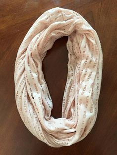 Pale Pink/neutral mesh infinity - Great go to for an everyday Infinity! www.stellaroselyshop.com