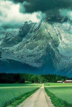 """The person who pinned this before me had it labeled """"The Alps""""...which are gorgeous, don't get me wrong. But the first thing I thought when I saw it was""""*sigh*--the crop land."""""""