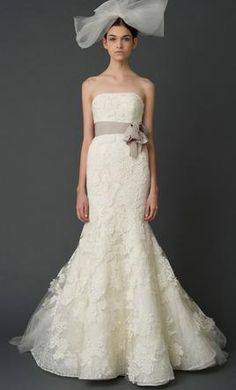 Used Vera Wang Wedding Dress Hillary, Size 4    Get a designer gown for (much!) less on PreOwnedWeddingDresses.com
