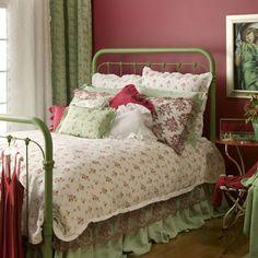 Bella Notte bedding.  Love it.