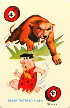 Ed-U-Card Flintstones Rummy