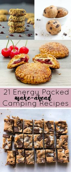 A Complete List of the best Make-Ahead Camping Recipes to keep you energized during your camping trip.