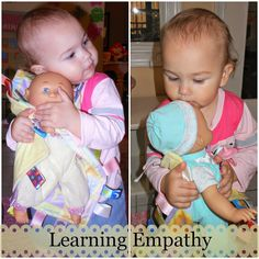 Teaching Toddlers Care of Self- Montessori Inspired self care, learning empathy and more.
