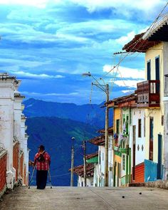 Heritage towns of Colombia South America, Latina, Lighthouse, Beautiful Places, To Go, City, World, Nature, Painting