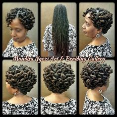 Pipe cleaner curls by NeciJones