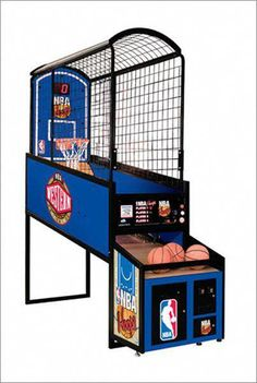 NBA Hoops Basketball is the industry's most durable, reliable, cost effective and best earning Arcade Basketball Game on the market. Unlike Full Court Fever and Street Fever, Hoop Fever Arcade Basketball, Ohio State Basketball, Indoor Basketball Hoop, Basketball Games For Kids, Street Basketball, Basketball Tricks, Basketball Floor, Sports Games, Basketball Shoes