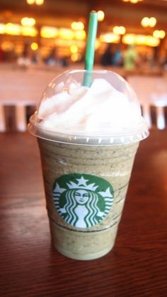 Starbucks Hacks: Thin Mint Frappuccino!...not sure about this one...