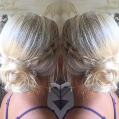 Braided elegance by Victoria...this updo is perfection! #updo #beauty #perfection #braids