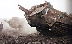 World War One, First World, Ww1 Tanks, La Malmaison, Ww1 History, Armored Vehicles, War Machine, Warfare, Military Vehicles
