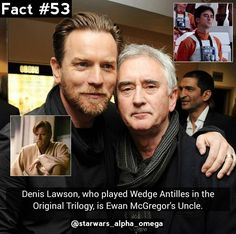 I think this was how I came to love Wedge Antilles so much. It would be so cool if he and Obi-Wan were related in Star Wars.