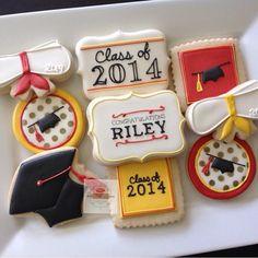 2 Dozen Custom Gradution 2015 Cookies