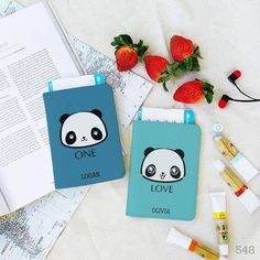 Bisu Bisu Personalized Couple Passport Covers CAT DOG COUPLE