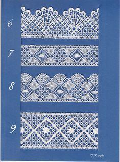 Needle Tatting, Tatting Lace, Needle Lace, Crochet Lace Edging, Crochet Stitches, Bobbin Lacemaking, Border Embroidery Designs, Bobbin Lace Patterns, Victorian Lace