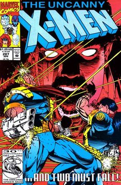Cover for The Uncanny X-Men (Marvel, 1981 series) #287 [Direct Edition]