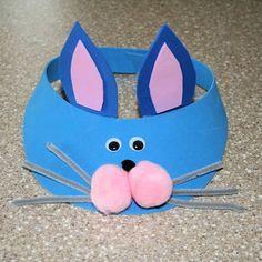 bunny foam visor