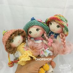 OHOPSHOP - Lots of cute little dolls for INSPIRATION and detail ideas