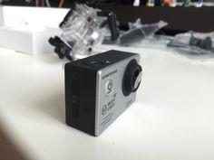 ICONNTECHS IT(JP) フルHD1080P防水スポーツカメラ、170°の広角レンズ、ワイヤレスHDMIビデオカメラ、ダイビング自転車やエクストリームスポーツ無料のヘルメットアクセサリー (銀)