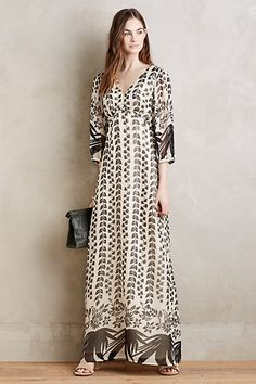 Nami Maxi Dress #anthropologie